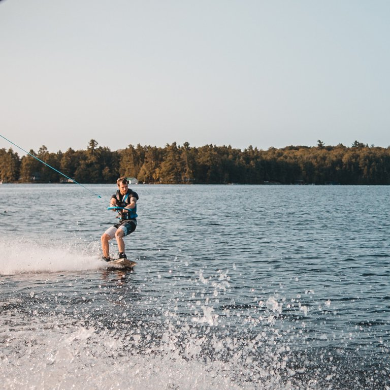 Wakeboarding in Kekova